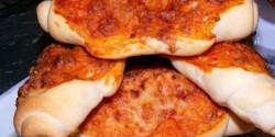 """Pizzás kifli """"hiper"""" módon"""