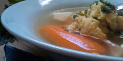 Maceszgombóc Nora Palmer konyhájából