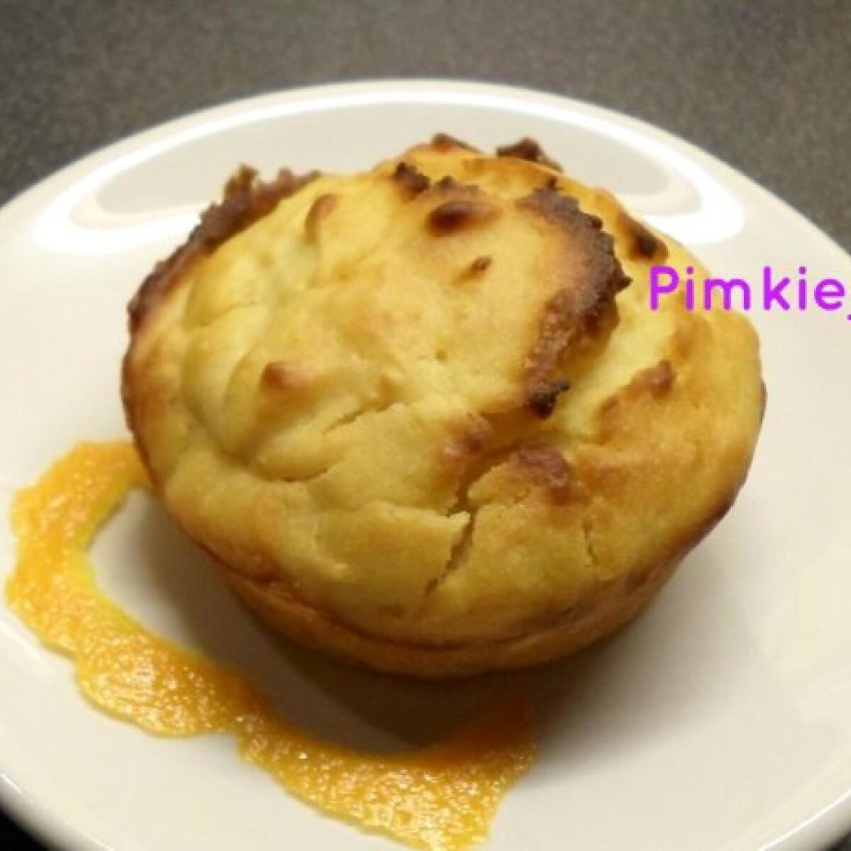 Ezen a képen: Narancsos-citromos muffin