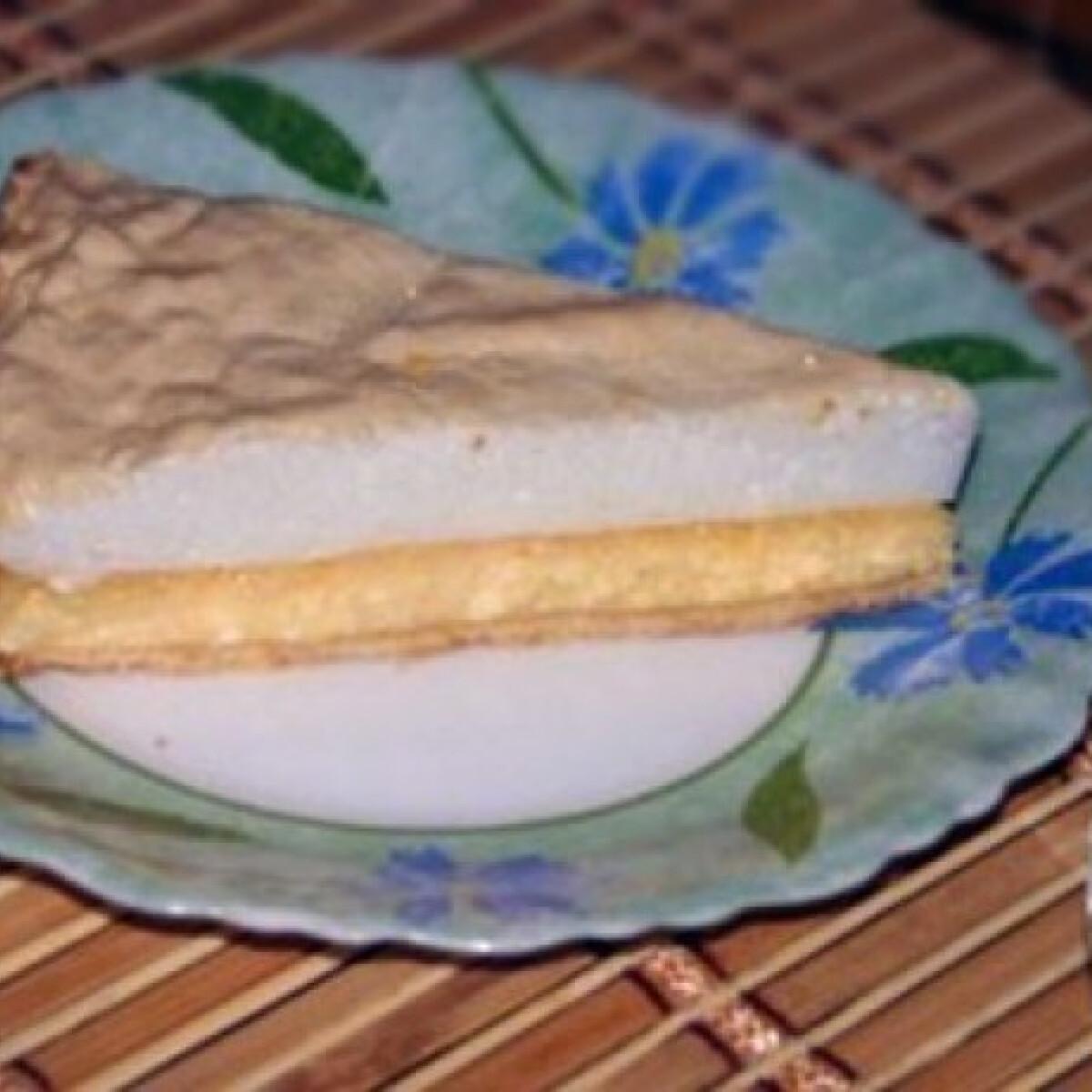Ezen a képen: Könnyű, habos túrós pite -Túrós pite 4.