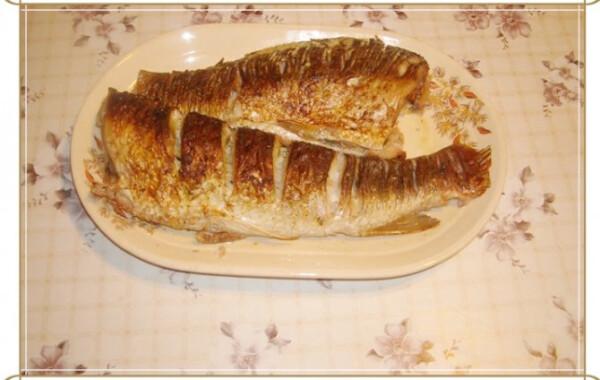 Egyszerű sült hal