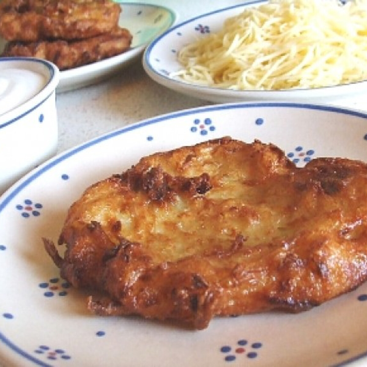Ezen a képen: Cukkinis lapcsánka Andi konyhájából