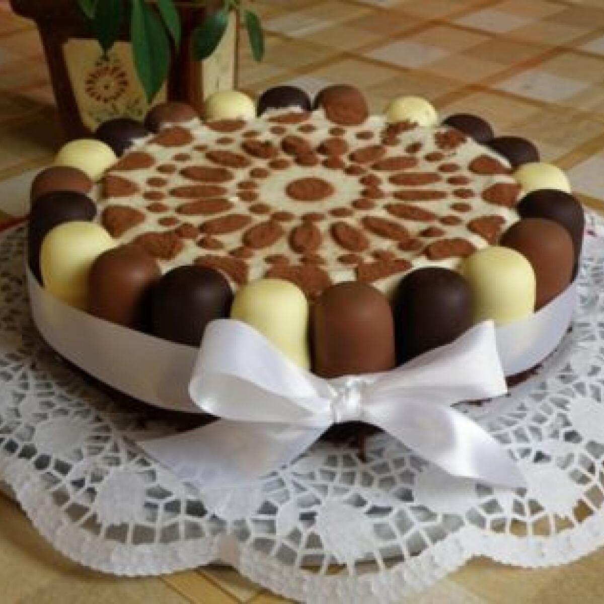 Ezen a képen: Négercsók torta Anyák napjára