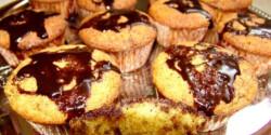 Kandírozott narancsos muffin