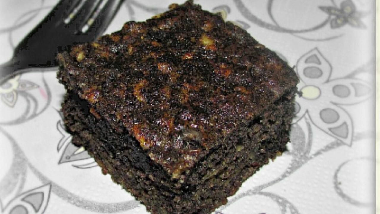 Mákos-almás paleo süti