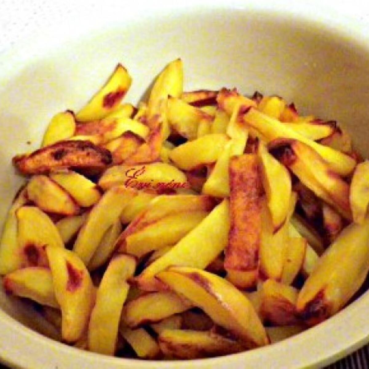 Ezen a képen: Ropogós sült krumpli