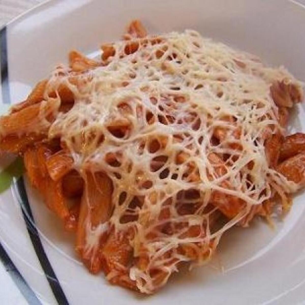Ezen a képen: Gyors ketchupos tészta