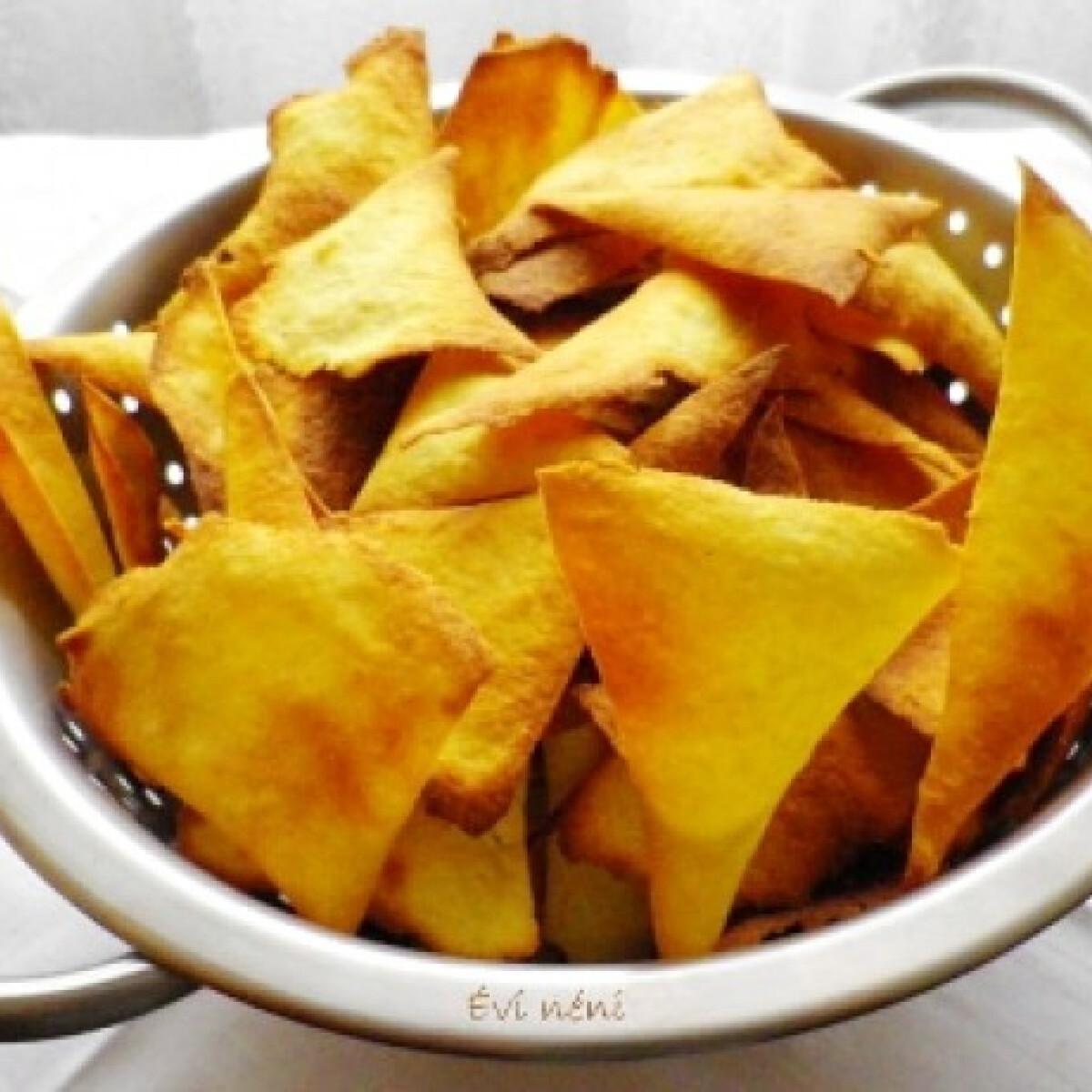 Ezen a képen: Tortilla chips Évi néni konyhájából