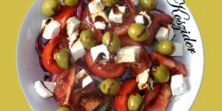 Görög saláta-vacsora