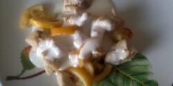 Citromos-mézes-joghurtos csirkemell