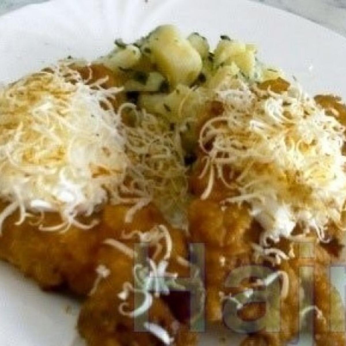 Ezen a képen: Pulykamell krumplis sörbundában