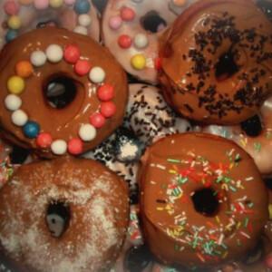 Fánk 12. - cukormázas donuts