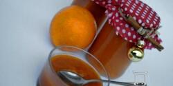 Narancsos sütőtökdzsem 2. - mézes - rozmaringos