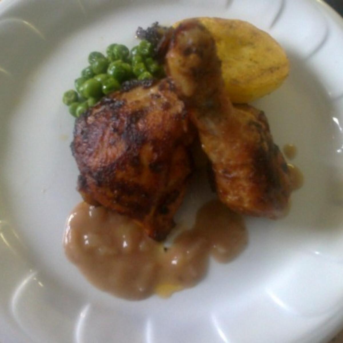 Ezen a képen: Angolos csirkesült