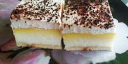 Grízes-krémes süti