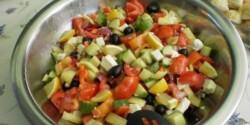 Görög saláta - kalforniai paprikával