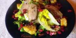Cézár saláta kacsamellel