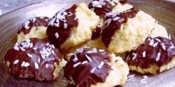 Kókuszos-csokis tallér