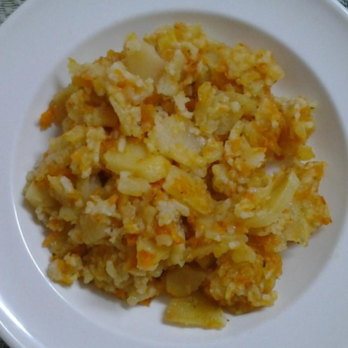 Répás burgonyás rizs