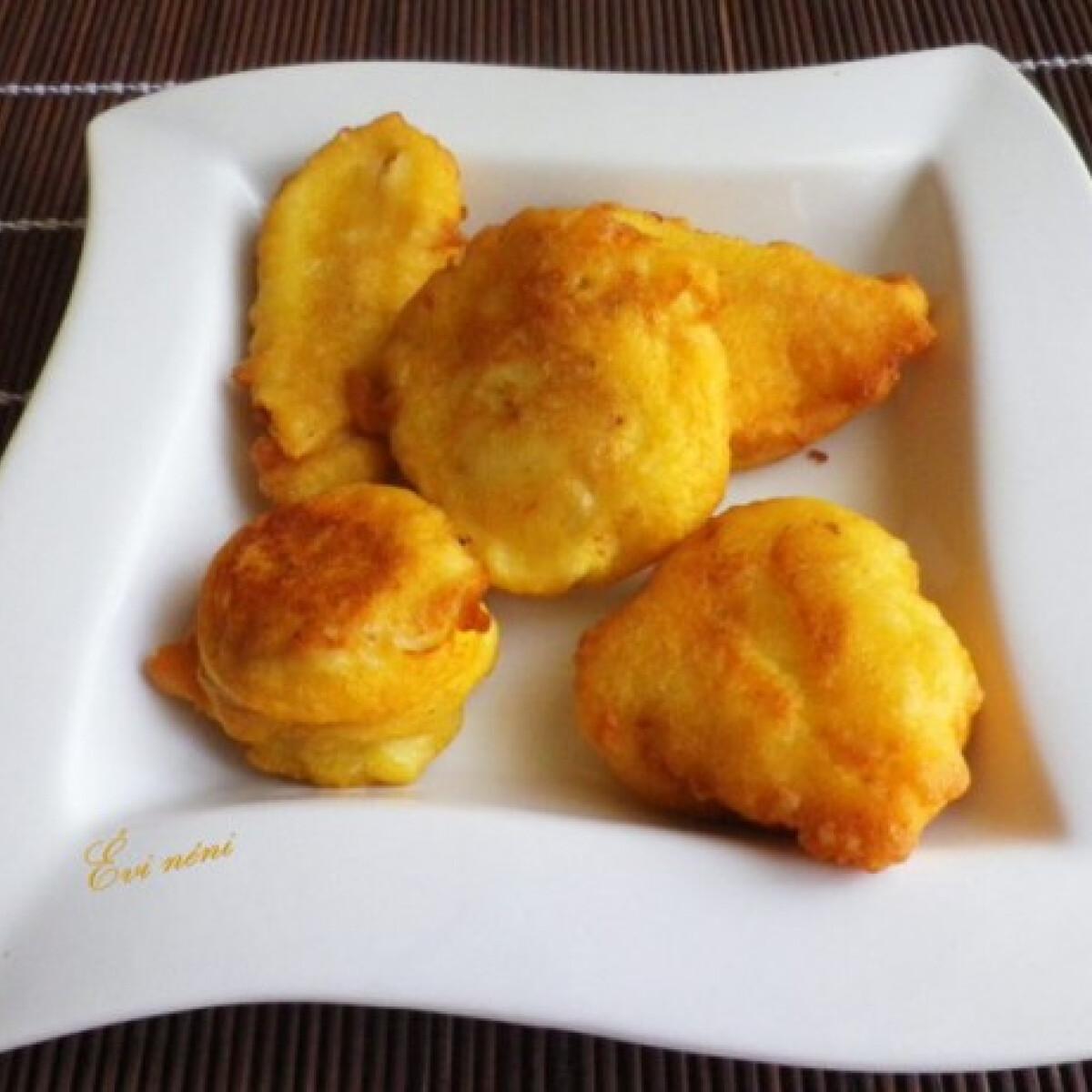 Fokhagymás-sajtos hús