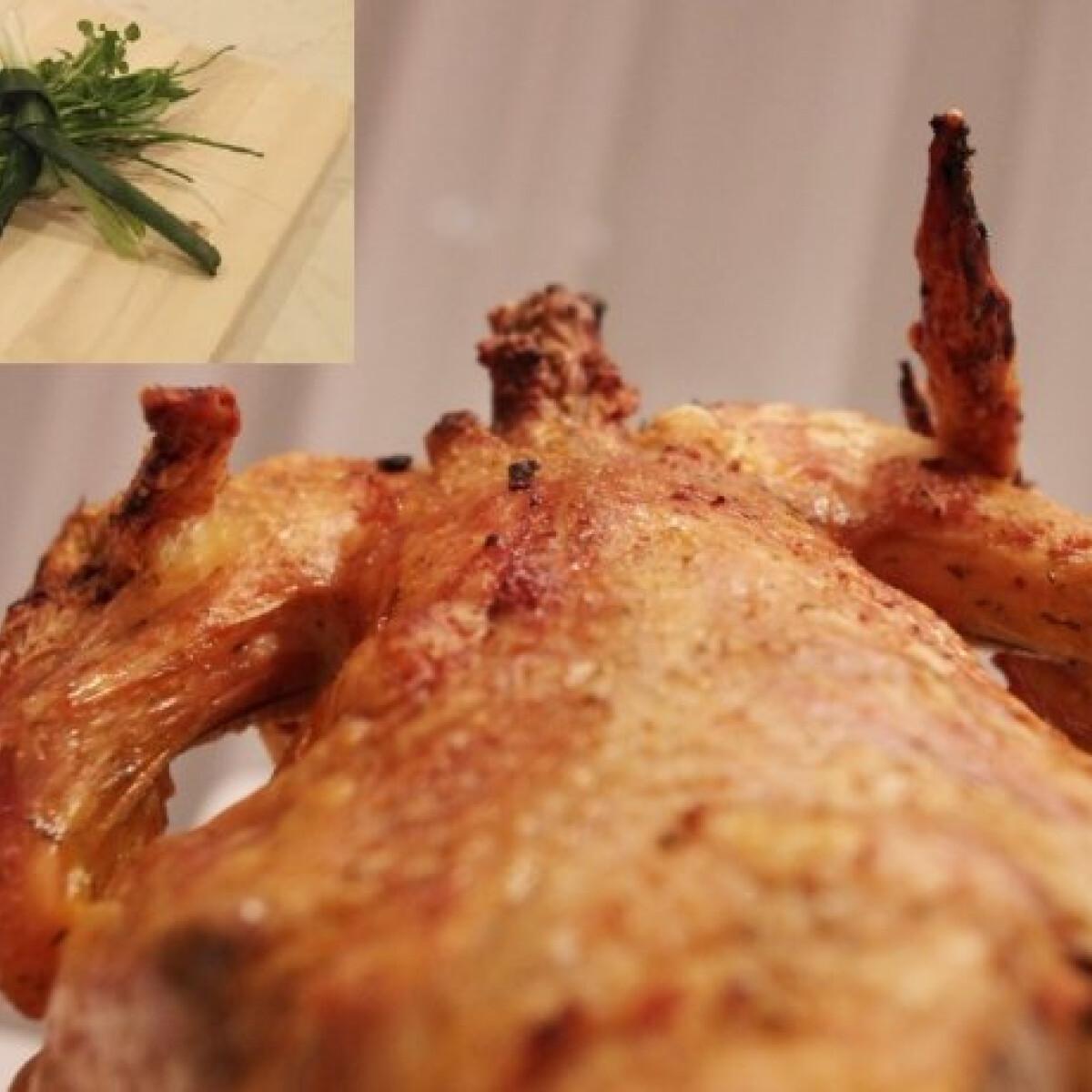 Ezen a képen: Homoki sült csirke