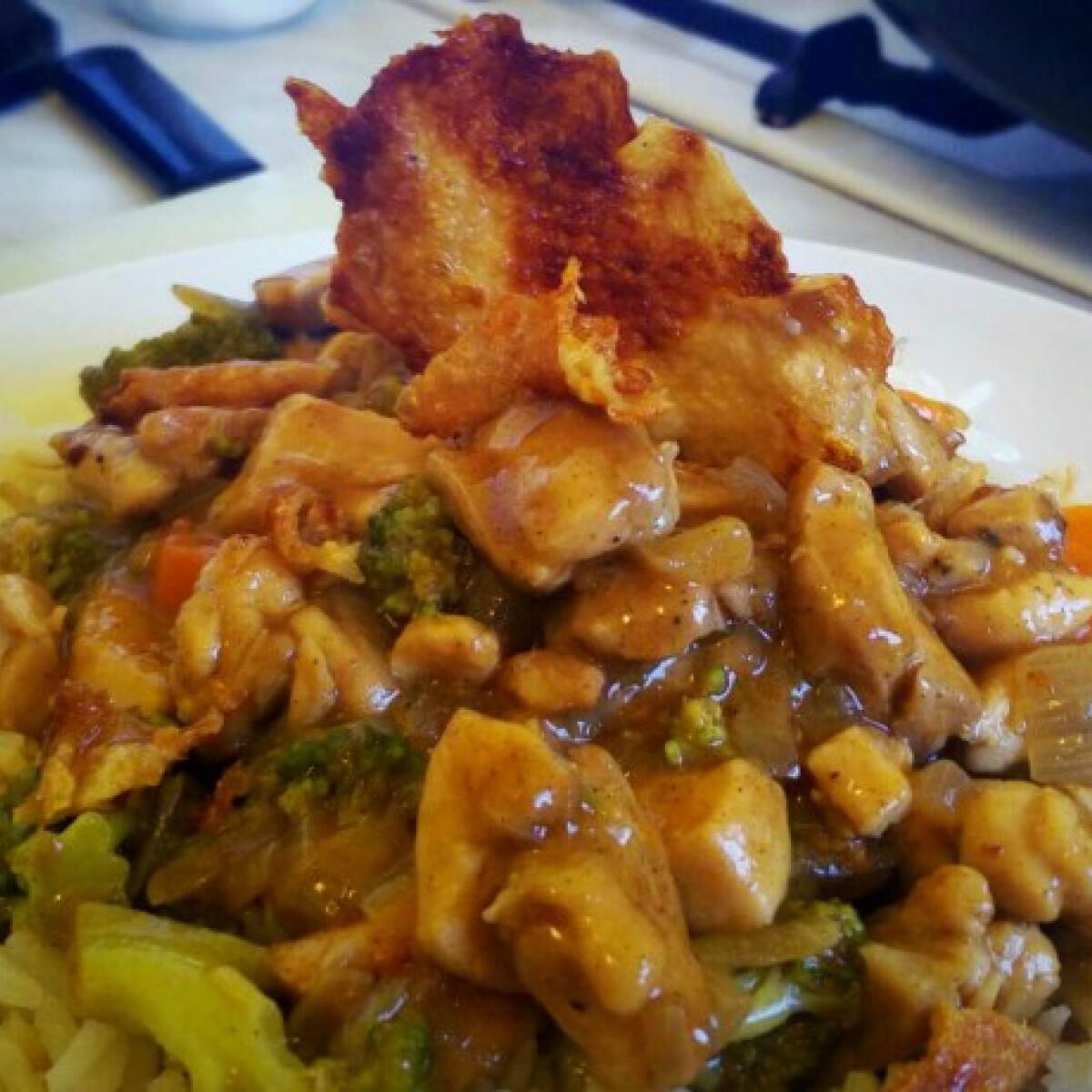 Ezen a képen: Zöldséges csirkeragu Norbi06 konyhájából
