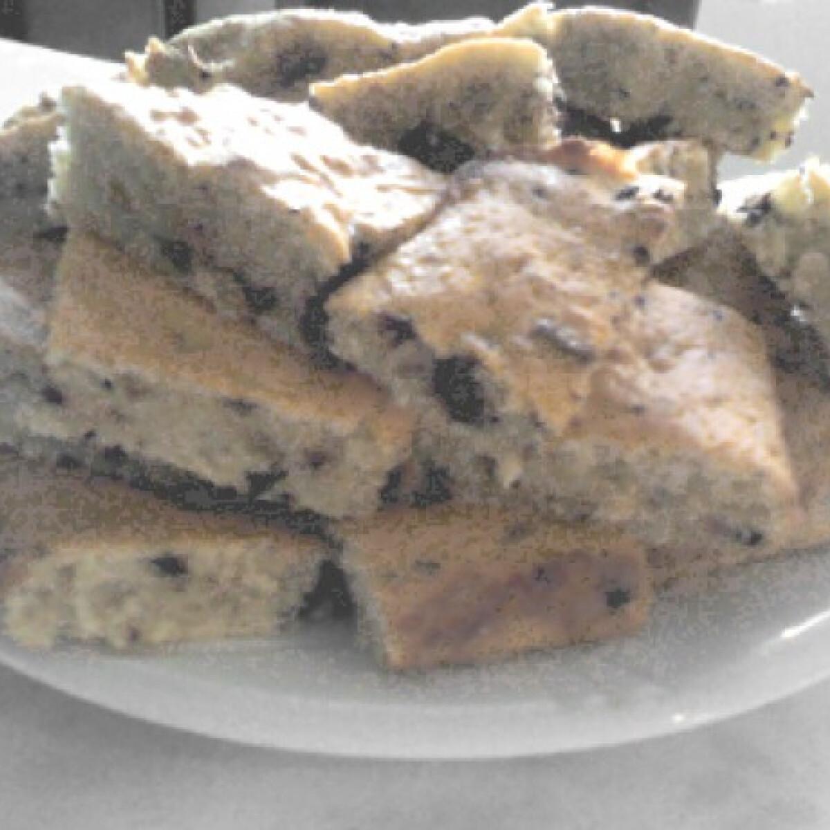 Csokis-kókuszos egyensúly süti