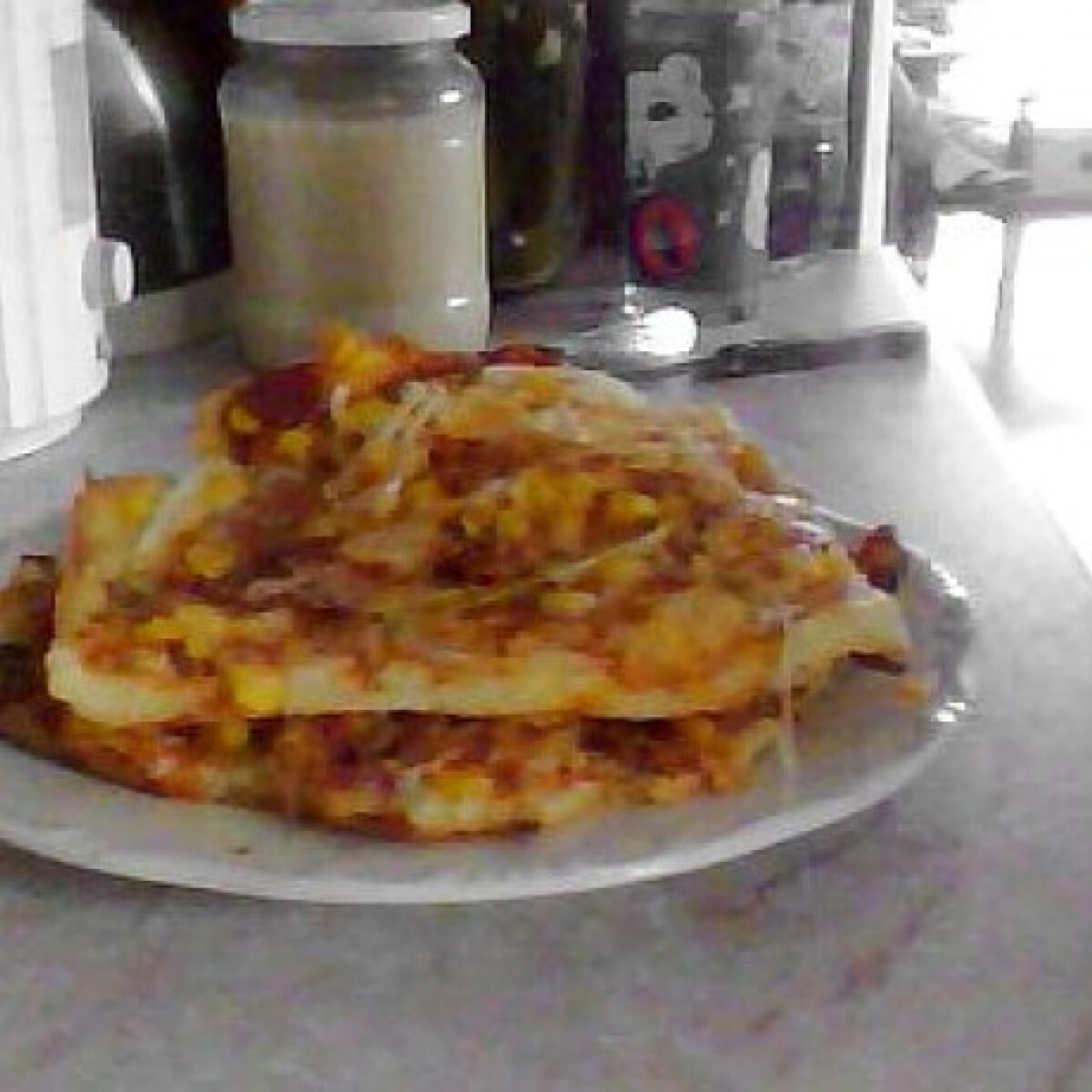 Ezen a képen: Gluténmentes pizza csak rizslisztből