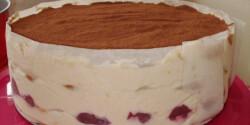Gyümölcsös tiramisu torta