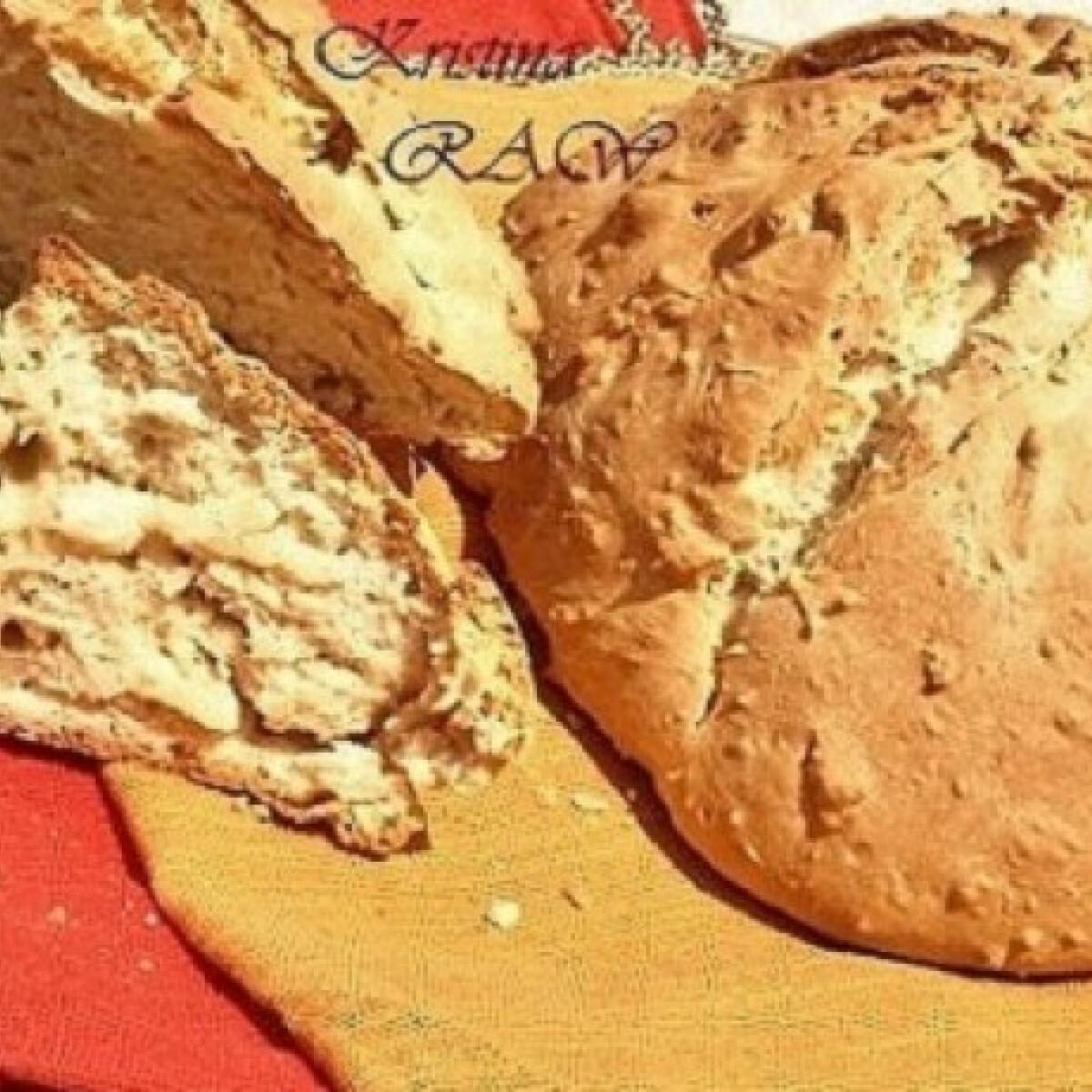 Ezen a képen: Ír szódás kenyér RAW konyhájából