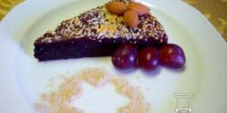 Toszkán narancsos csokoládétorta