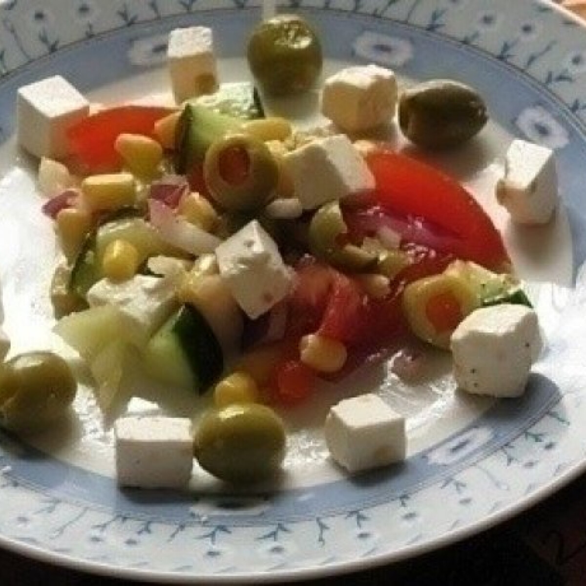 Ezen a képen: Különleges saláta