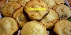 Földimogyorókrémes-banános muffin