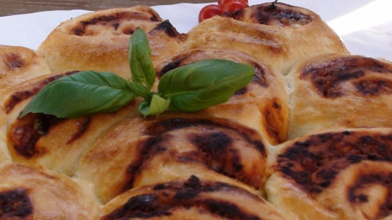Pizzás csigák Anita konyhájából