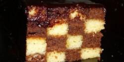 Kockás süti