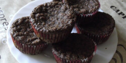Paleo rumos-diós muffin