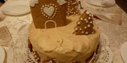 Karácsonyi torta Kexie konyhájából