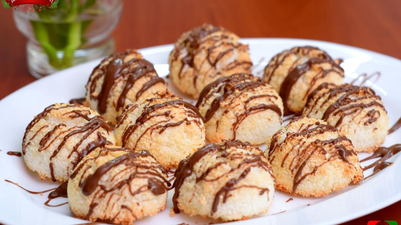 Gluténmentes csokis kókuszcsók