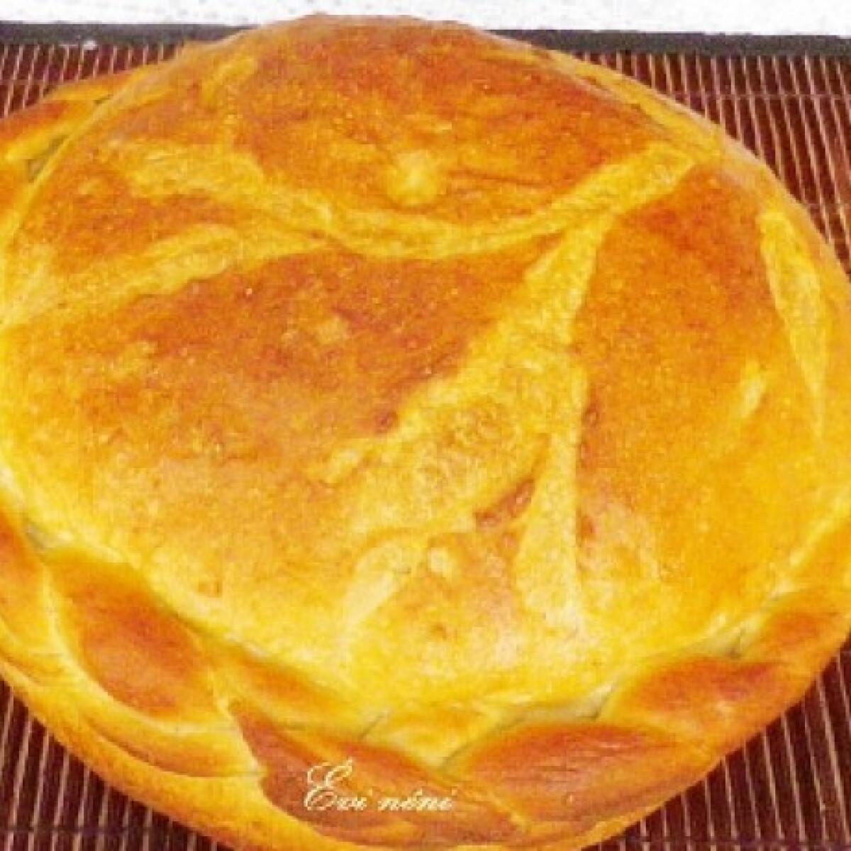 Ezen a képen: Fonott diabetikus lisztes kenyér