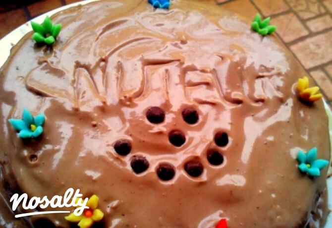 Ezen a képen: Nutellatorta Lizadoki konyhájából