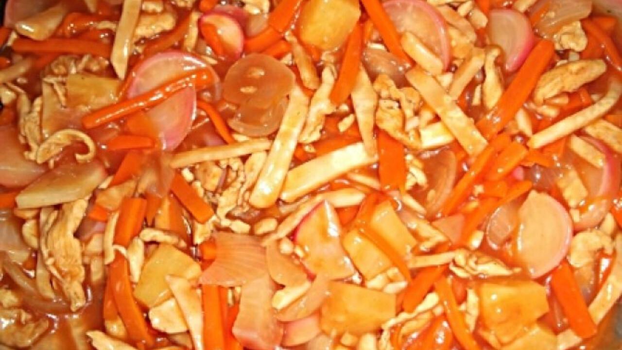 Kínai édes-savanyú Khazmeer konyhájából