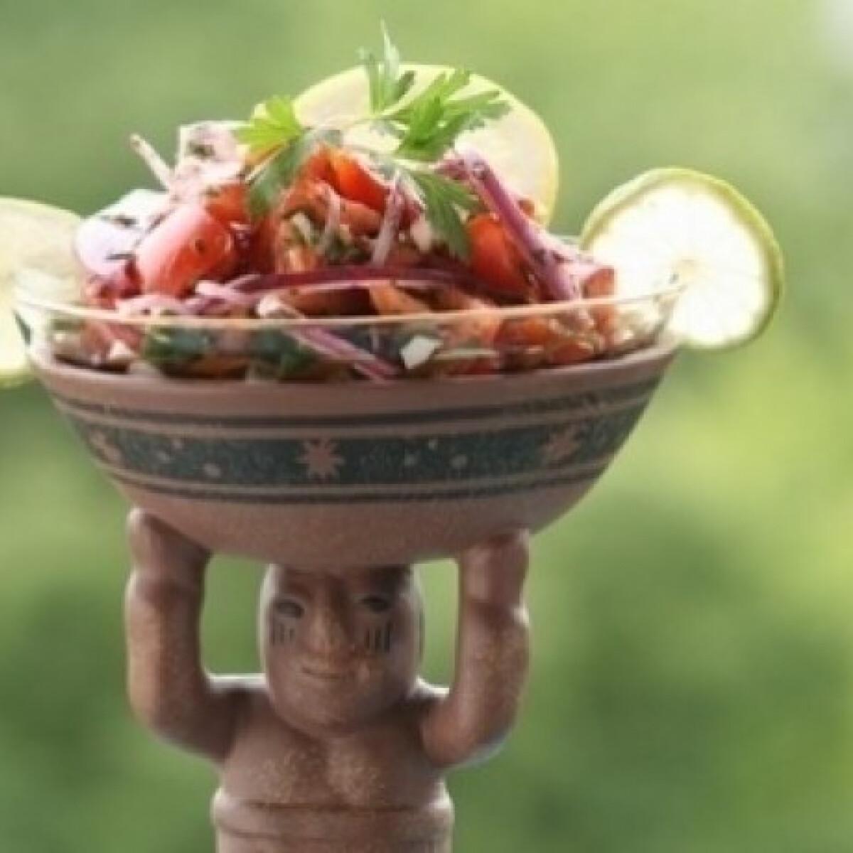 Ezen a képen: Paradicsomos salsa