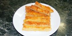A legegyszerűbb sajtos rúd