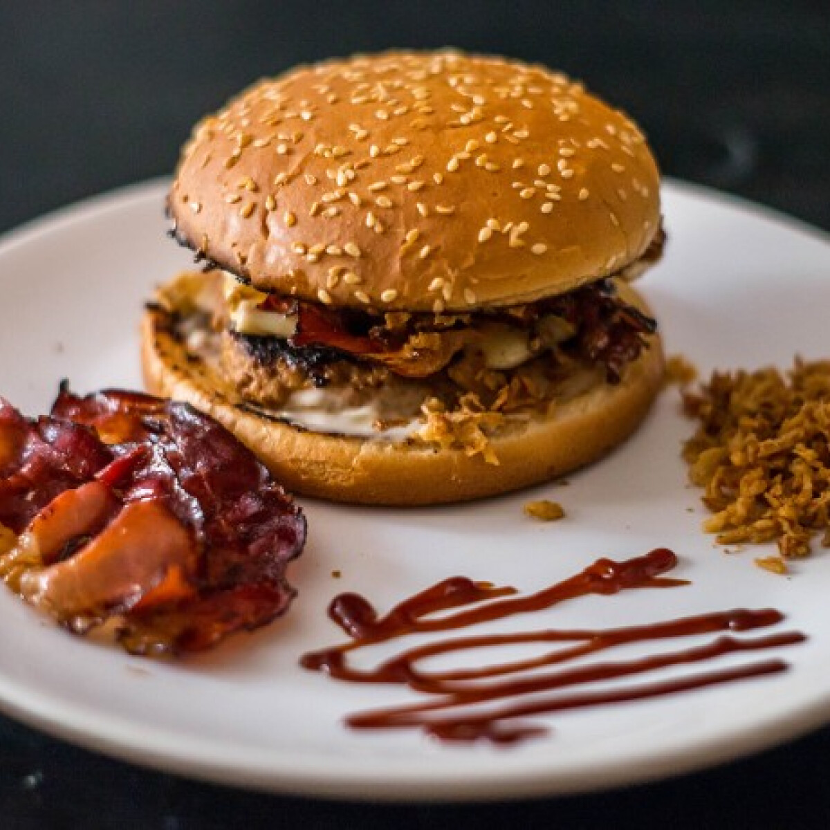 Double BBQ Burger