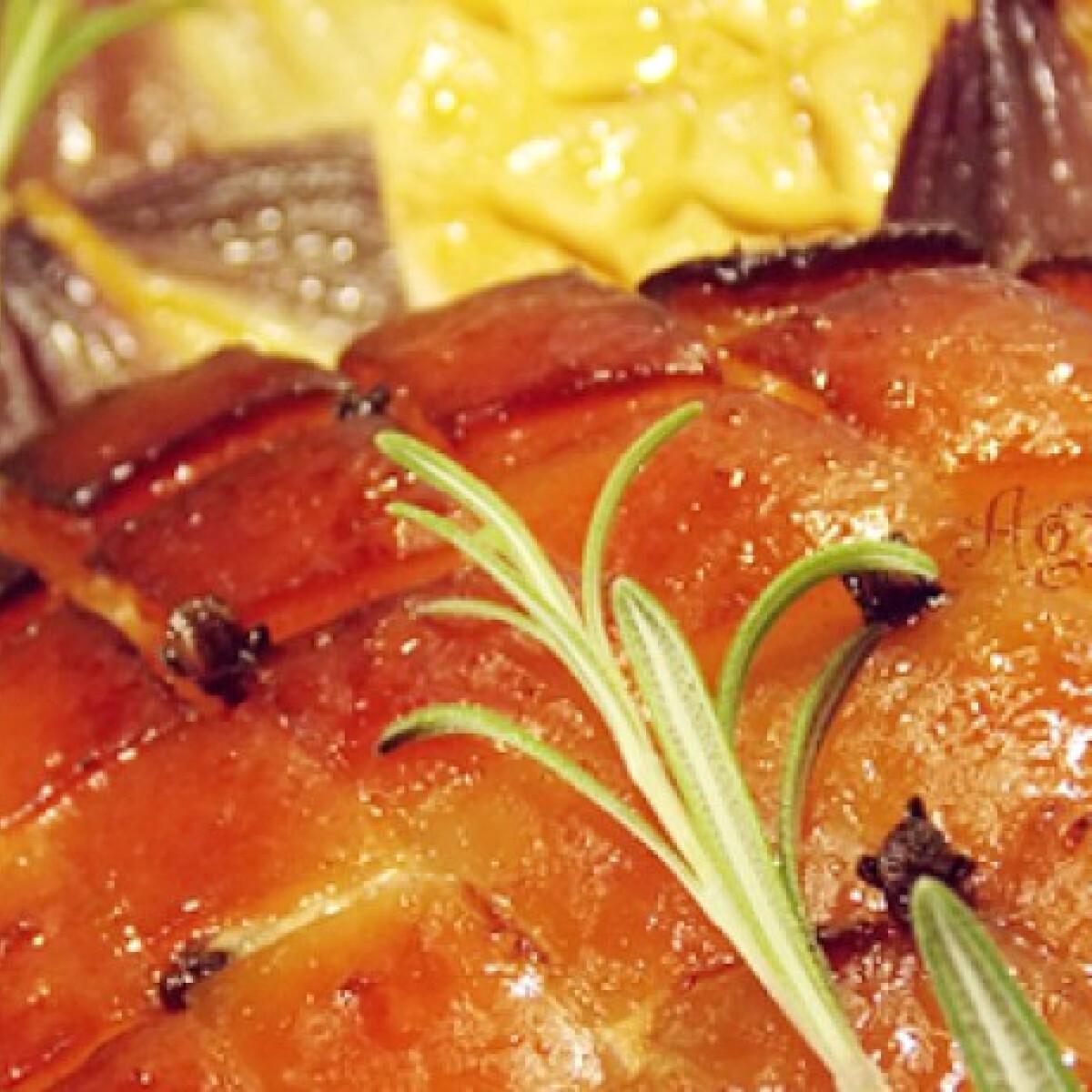 Ezen a képen: Karácsonyi fűszeres császárhús