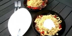 Lebanoni grillezett zöldséges quinoa