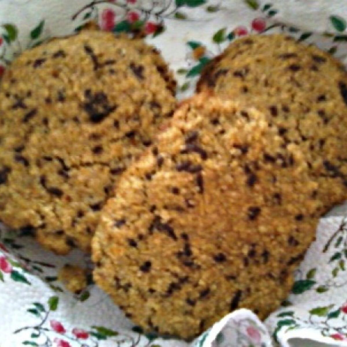 Ezen a képen: Zabpelyhes keksz xilittel