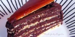 Dobos-torta a The Cake Factory-tól