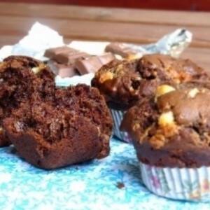 Triplán csokis muffin