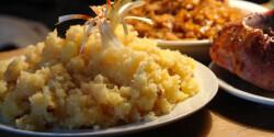 Hagymás tört krumpli